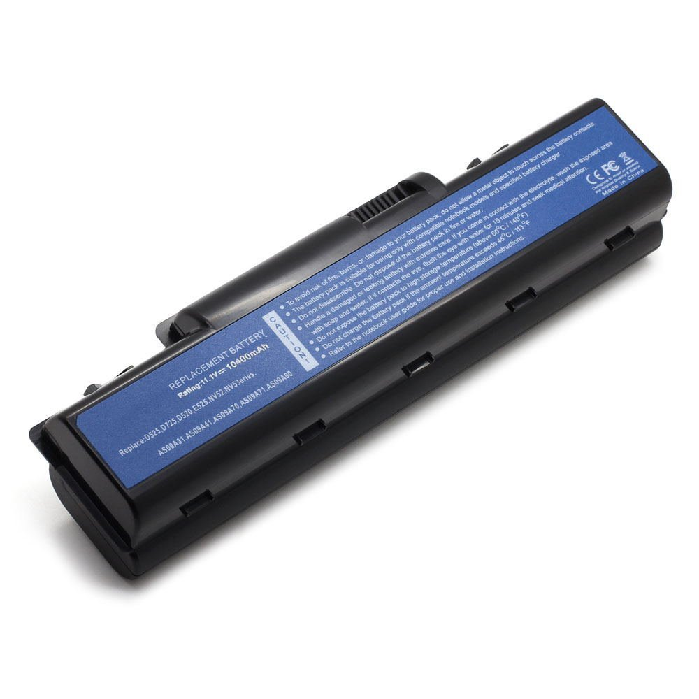 AC-V5 14.8V 2600 4cell Laptop Battery for Acer AK.006BT.025, AS09A31, AS09A36 101-020CV-64023