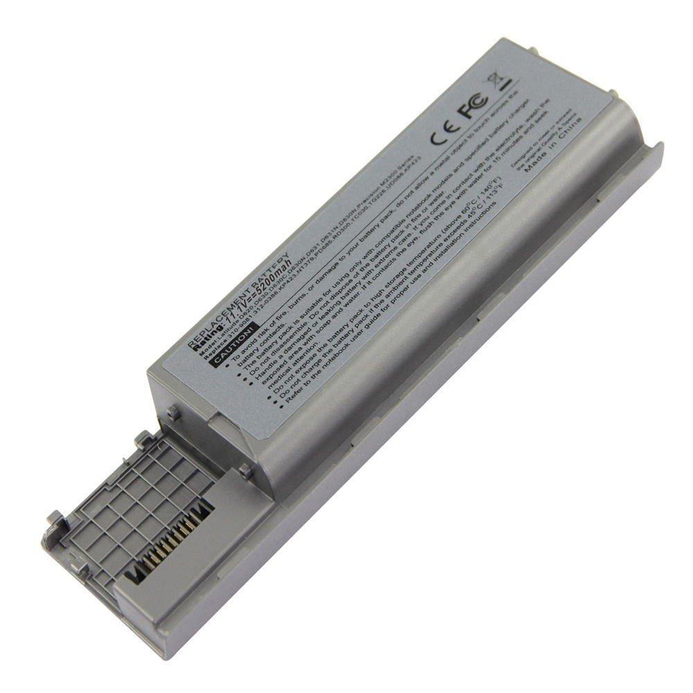DE-D620 11.1V 5200 6cell Laptop Battery for DELL Inspiron 500m 510m 600m D500 101-04092-22043