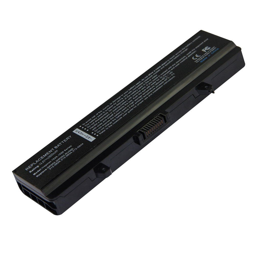 DE-1526 14.8V 2600 4cell Laptop Battery for DELL Insprion 1440 1525 1526 11545 01-040B5-64023