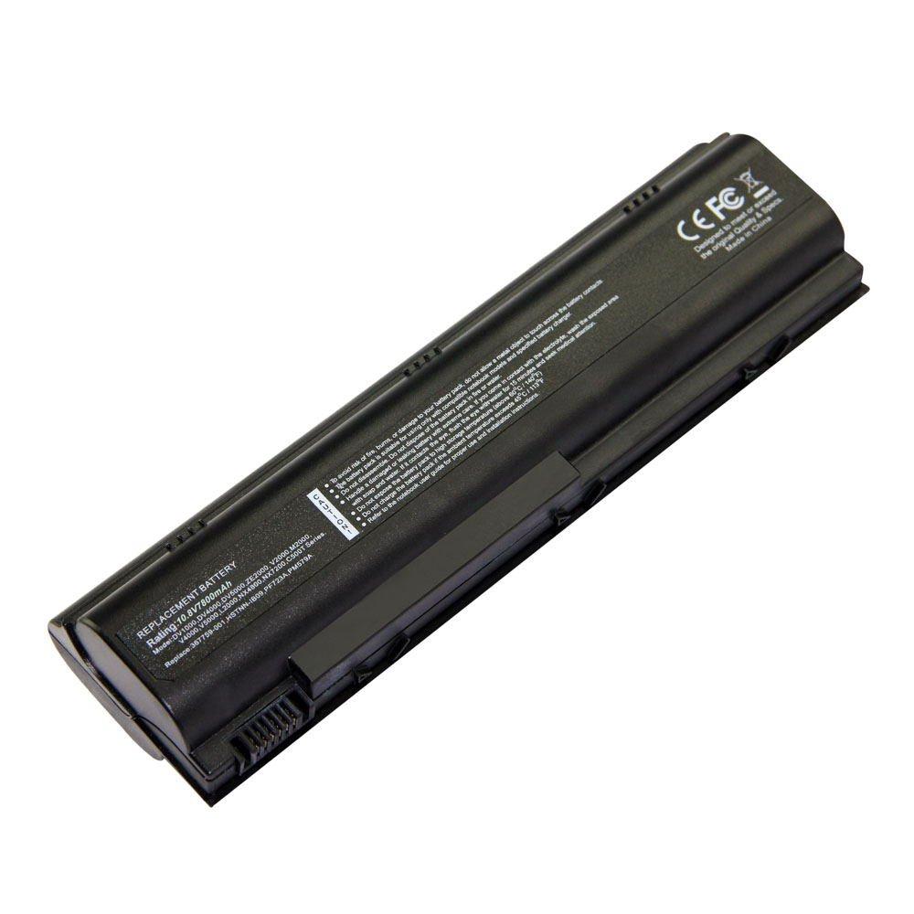 HQ-DV1000 10.8V 7800 9cell Laptop Battery for HP HSTNN-OB17, HSTNN-UB09,HSTNN-UB17 101-05146-11023