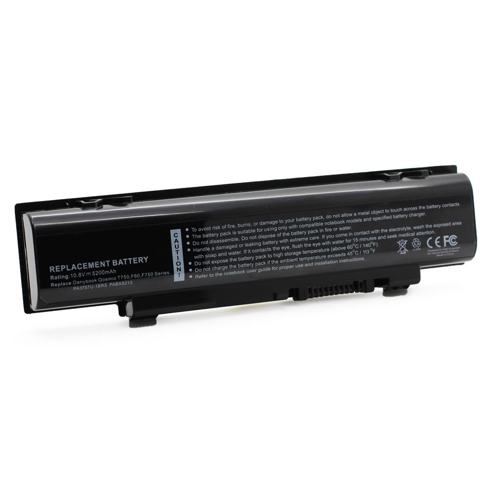 TS-PA3757 10.8V 5200 6cell Laptop Battery for Toshiba Qosmio T750 / T8A T750 / T8B 101-070H4-08023