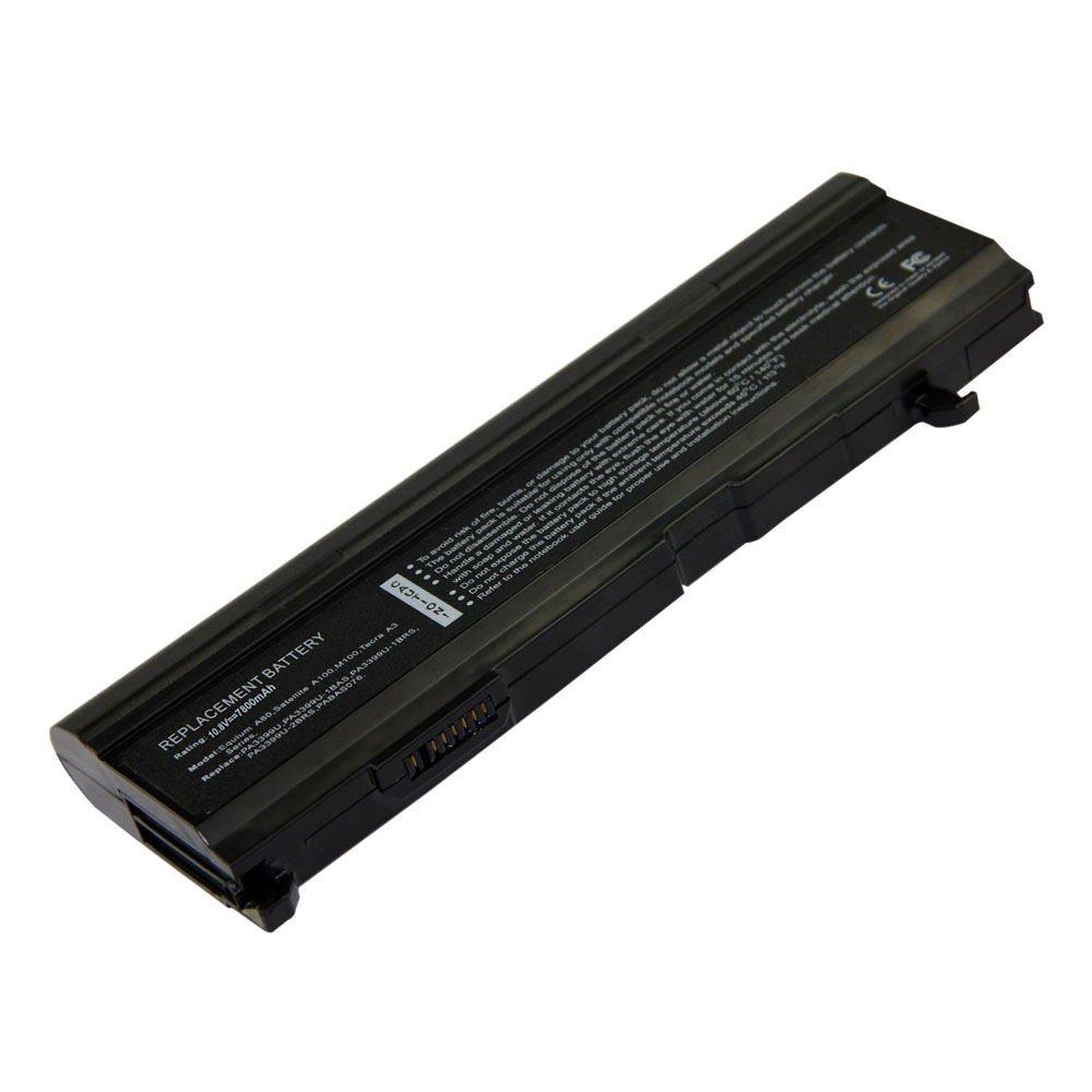 TS-PA3399U 10.8V 7800 9cell Laptop Battery for Toshiba PABASO57, PABASO76, PABASO77 101-07243-11023