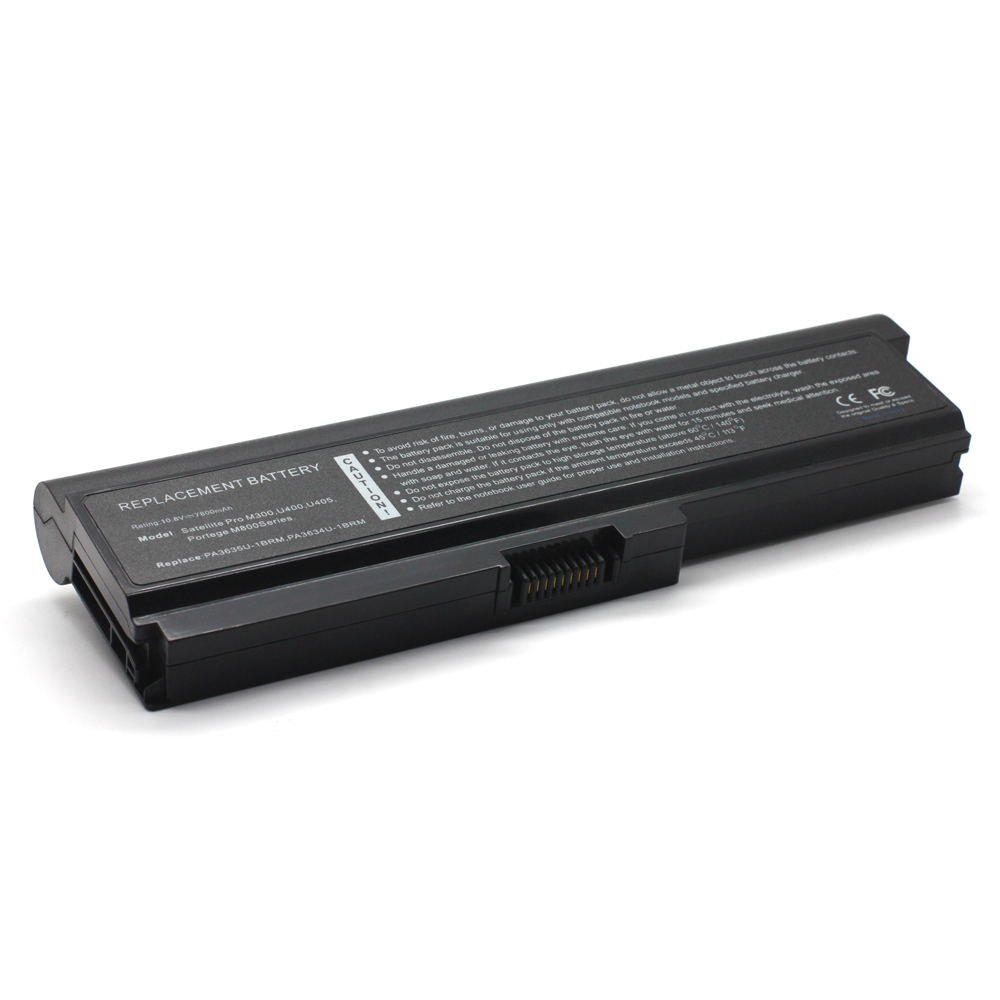 TS-PA3634U 10.8V 7800 9cell Laptop Battery for Toshiba PA3636U-1BRL, PABAS118 101-07252-11023