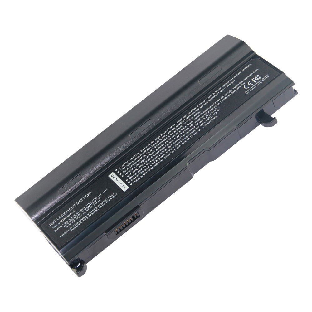 TS-PA3465U 10.8V 10400 12cell Laptop Battery for Toshiba PABAS069, PABAS067 101-07246-14023