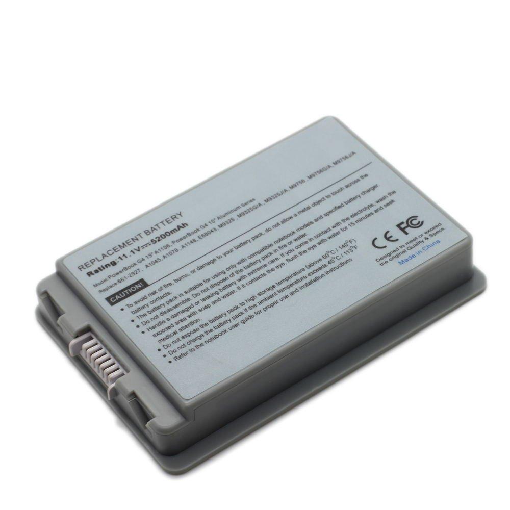 AP-A1078 11.1V 5200 6cell Laptop Battery for APPLE 661-2927, A1148, E68043,101-08029-22083