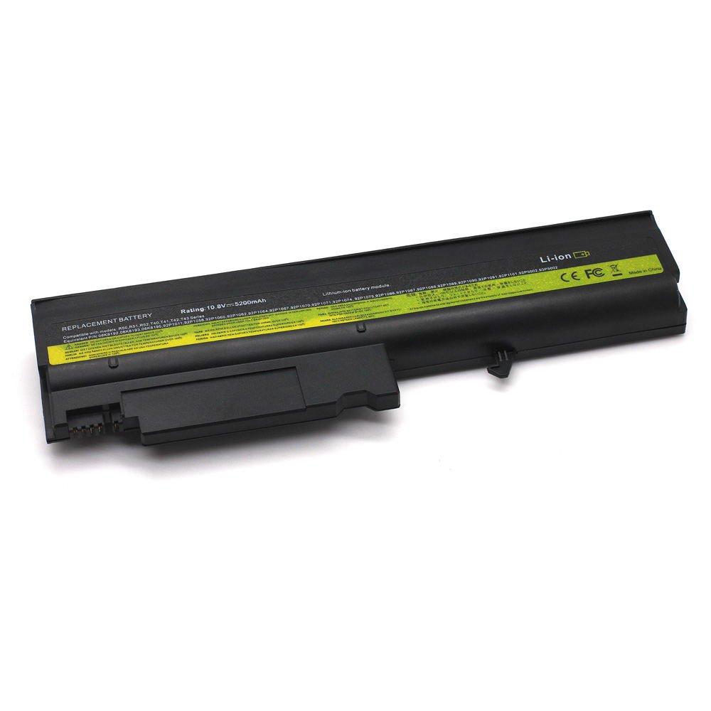 IB-T40 10.8V 5200 6cell Laptop Battery for Lenovo ThinkPad T41 T42 T43 R50 series 101-06177-08023