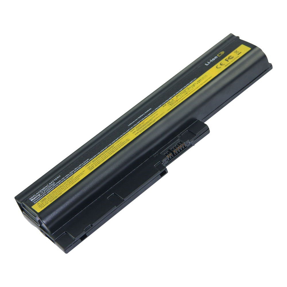 IB-T60 10.8V 5200 6cell Laptop Battery for Lenovo 40Y6799, ASM 92P1138, ASM 92P1140 101-06178-08023