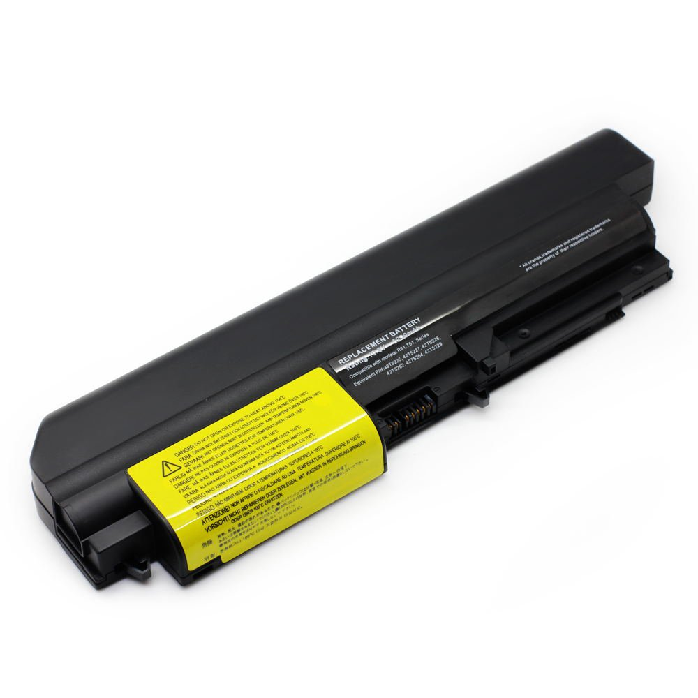 IB-T61 10.8V 5200 6cell Laptop Battery for Lenovo 40Y6799, 42T4504, 42T4513 101-06179-08023