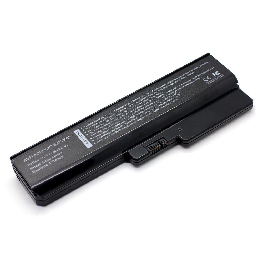 LV-G450 11.1V 5200 6cell 101-090AT-22023 Laptop Battery for Lenovo 42T4725, 42T4726, 42T4729