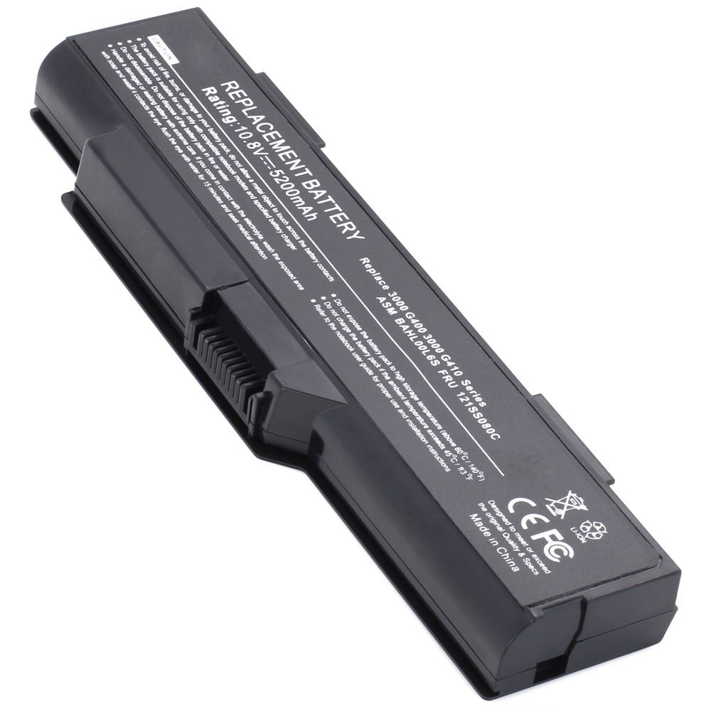 LV-G400 10.8V 5200 6cell Laptop Battery for Lenovo IdeaPad G485 V480 w485 G485, V480 101-09190-08023