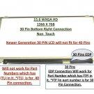 "LTN156AT31-P01 REPLACEMENT LAPTOP 15.6"""" LCD LED Display Screen WXGA HD"