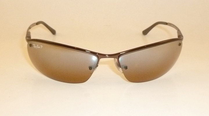 New  RAY BAN  Sunglasses  Brown Frame  RB 3183 014/84   Brown POLARIZED Lenses
