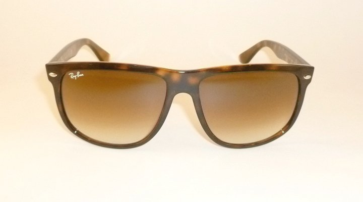 New RAY BAN Sunglasses Brown Frame  RB 4147 710/51  Glass Gradient  Brown Lenses