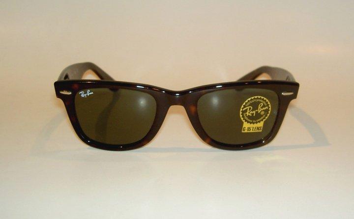 New RAY BAN Original WAYFARER Sunglasses RB 2140 902 Tortoise Frame 50mm MEDIUM