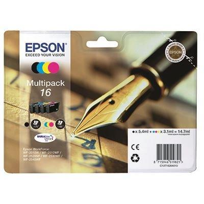 Ink Epson 16 (BK-C-M-Y) Multipack