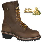 "9"" CRAZY HORSE WATERPROOF BUFFALO LEATHER STEEL TOE LOGGER - 9215"