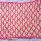 Crochet Granny Square American girl doll blanket