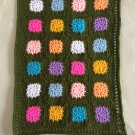 Crochet Granny Square American girl doll blanket