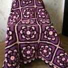 Crochet Granny Squares Crib Afghan
