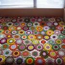 Flowers Crochet Blanket