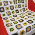 Granny Square Crochet Blanket