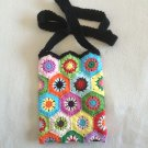 Crochet Granny Square.bag pouch