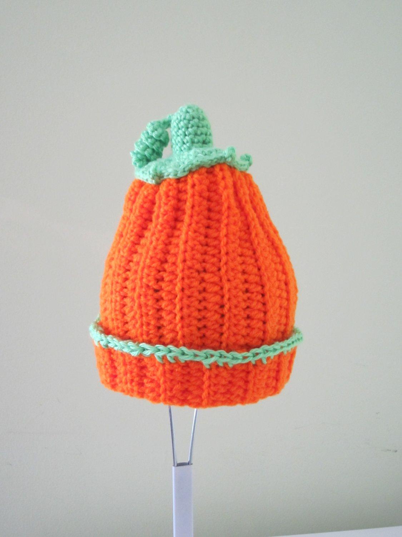 Crocher Pumpkin Hat