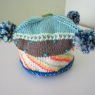 Knitted .Children beret hat