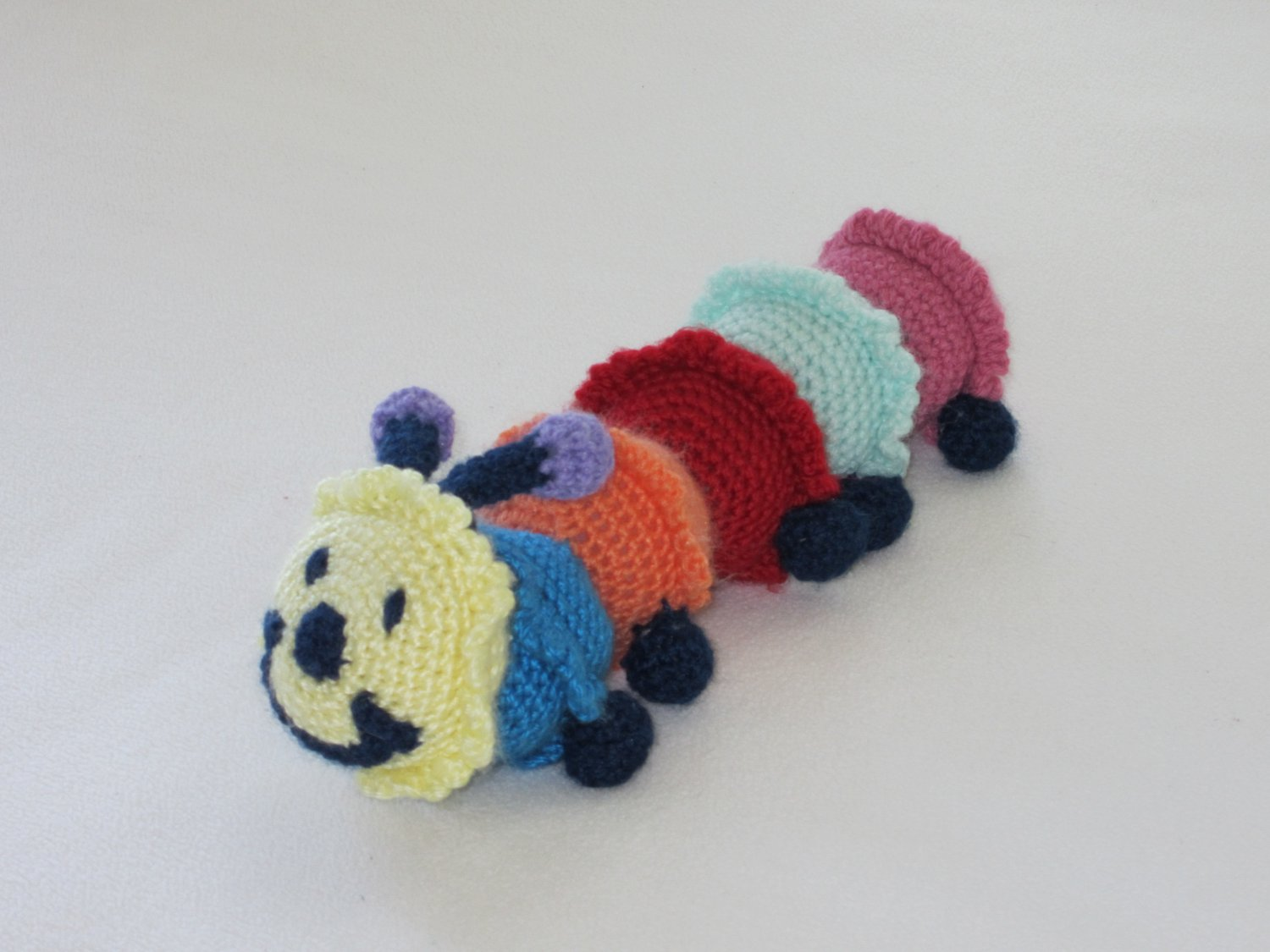 Crochet caterpilar