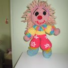Crochet toy little funny clown