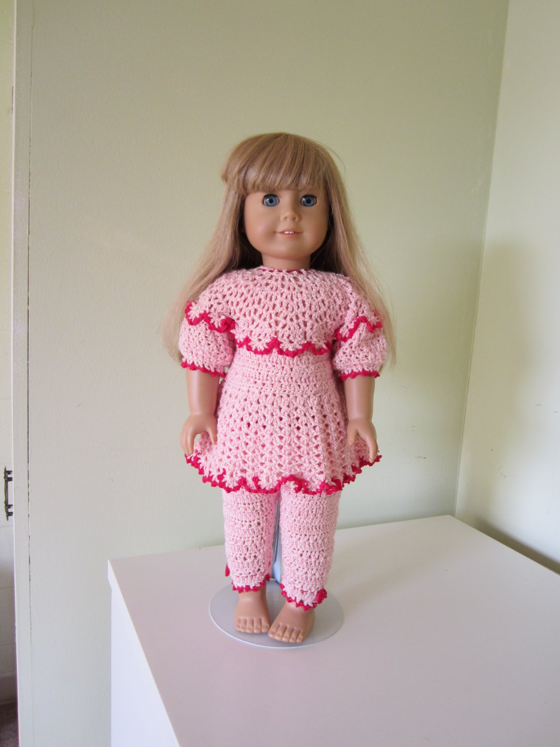 Crochet American Girl Doll Outfit