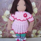 Crochet set for 16 inches Waldorf and similar sizes dolls