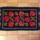 Vintage Handmade Wool Woved Rug