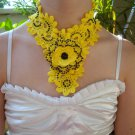 Crochet Necklace Handmade Accessory
