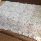 Crochet lace blanket