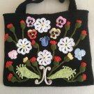 Irish crochet bag