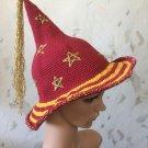 Crochet Wizard girl hat