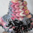 Hand knitted neckwarmer