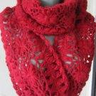 Infinity Crochet Scarf / Loop Scarf/ Mohair scarf