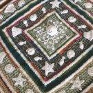 Crochet 3D Sea Shells Blanket...Irish Crochet Baby Blanket