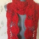 Crochet Hairpin Scarf