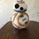 Crochet toy BB 8... stuffed soft toy...Star wars toy