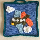 Order a Personalised Hand Crocheted Card With Your Own Greeting