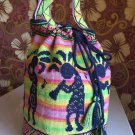 Mochila bag Hand embroidered bag Colombian style backpack