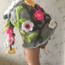 Knitted Flower Fairy Hat