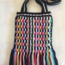 Crochet Zebra Bag