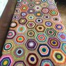 Crochet Granny Square Blanket... Afghan