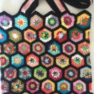 Crochet Granny Square.pouch...Tote....Shopping bag
