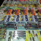 large 100 + fishing tackle lure& line & hooks & spinner & combos sets and more