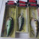 lot 3 (1) RAPALA CRANKIN' RAP CRR-5 & ( 2) CRANKLIN' RAP Floating-Rattle CRR14